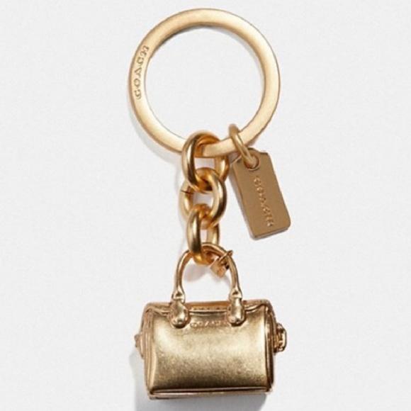 KEY CHAIN RING CHARM HOLDER FOB HANGTAG BAG HANDBAG PURSE KEYCHAIN KEYRING NEW